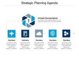 Strategic Planning Agenda Ppt Powerpoint Presentation Professional Graphics Tutorials Cpb