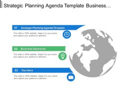 Strategic Planning Agenda Template Business Objectives Product Development Cpb