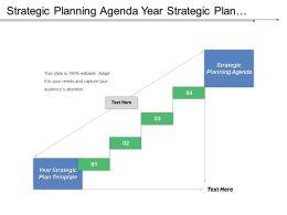 Strategic Planning Agenda Year Strategic Plan Template Trade Promotion Cpb