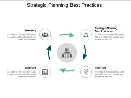 Strategic Planning Best Practices Ppt Powerpoint Presentation Ideas Good Cpb
