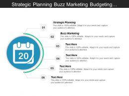 Strategic Planning Buzz Marketing Budgeting Organizational Change Management Cpb