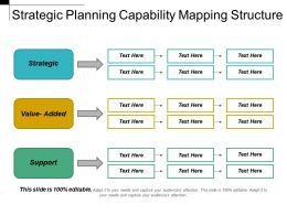 Strategic Planning Capability Mapping Structure