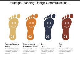 Strategic Planning Design Communication Engagement Service Monitoring Progress