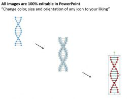 Strategic Planning Dna Structre For Medical Theme Powerpoint Templates PPT Backgrounds Slides 0618
