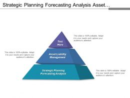Strategic Planning Forecasting Analysis Asset Liability Management Business Impacts
