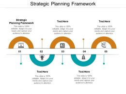 Strategic Planning Framework Ppt Powerpoint Presentation Pictures Clipart Images Cpb