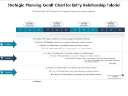 Strategic Planning Gantt Chart For Entity Relationship Tutorial