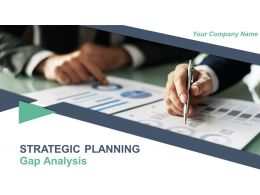 Strategic Planning Gap Analysis Powerpoint Presentation Slides
