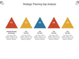 Strategic Planning Gap Analysis Ppt Powerpoint Presentation Outline Graphics Example Cpb