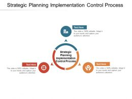 Strategic Planning Implementation Control Process Ppt Powerpoint Presentation Styles Cpb
