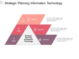 Strategic Planning Information Technology Ppt Powerpoint Presentation Styles Cpb