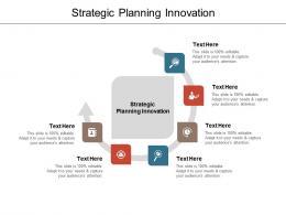 Strategic Planning Innovation Ppt Powerpoint Presentation Gallery Skills Cpb