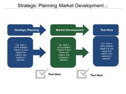 Strategic Planning Market Development Entrepreneurial Activity Government Planning