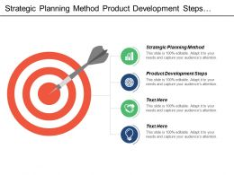 Strategic Planning Method Product Development Steps Global Warming Cpb