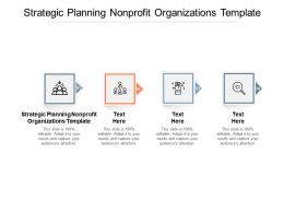 Strategic Planning Nonprofit Organizations Template Ppt Powerpoint Presentation Summary Cpb