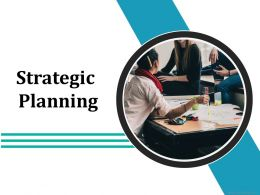 Strategic Planning Ppt Infographics