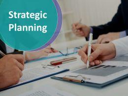 Strategic Planning Ppt Model Template