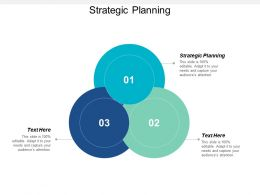Strategic Planning Ppt Powerpoint Presentation Icon Portfolio Cpb