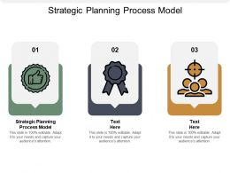 Strategic Planning Process Model Ppt Powerpoint Presentation Summary Ideas Cpb