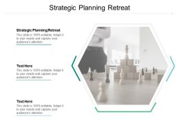 Strategic Planning Retreat Ppt Powerpoint Presentation Elements Cpb