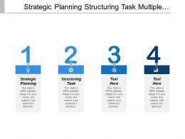 Strategic Planning Structuring Task Multiple Calendar Execution Analysis