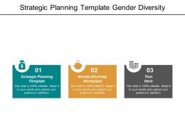 Strategic Planning Template Gender Diversity Workplace Turnaround Business Plan Cpb