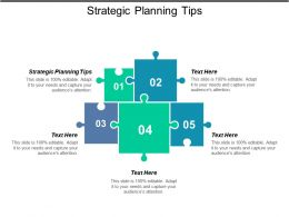 Strategic Planning Tips Ppt Powerpoint Presentation Icon Elements Cpb