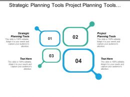 Strategic Planning Tools Project Planning Tools Project Scheduling System Cpb