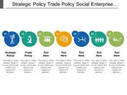Strategic Policy Trade Policy Social Enterprise Investment Industry