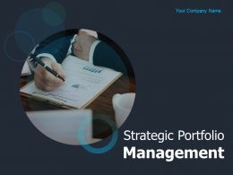 Strategic Portfolio Management Powerpoint Presentation Slides