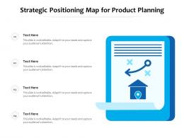 Strategic Positioning Map For Product Planning