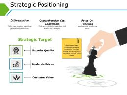 Strategic Positioning Ppt Diagrams Template 1