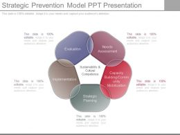 Strategic Prevention Model Ppt Presentation
