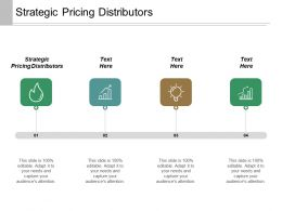 Strategic Pricing Distributors Ppt Powerpoint Presentation Layouts Inspiration Cpb