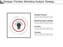 Strategic Priorities Marketing Analysis Strategy Historical Trend Analysis