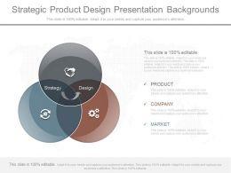 Strategic Product Design Presentation Backgrounds