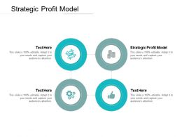 Strategic Profit Model Ppt Powerpoint Presentation Layouts Shapes Cpb