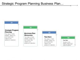Strategic Program Planning Business Plan Resources Staff Performance Evaluations Cpb