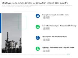 Strategic Recommendations For Growth Global Energy Outlook Challenges Recommendations