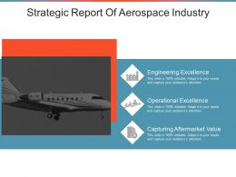 Strategic Report Of Aerospace Industry Powerpoint Images