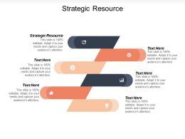 Strategic Resource Ppt Powerpoint Presentation Ideas Demonstration Cpb