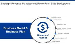 Strategic Revenue Management Powerpoint Slide Background