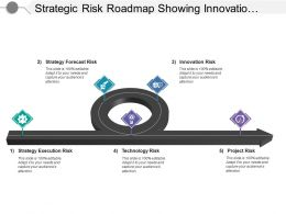 Strategic Risk Roadmap Showing Innovation And Technology Risk