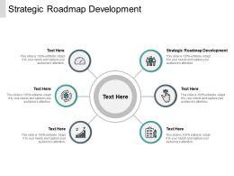 Strategic Roadmap Development Ppt Powerpoint Presentation Icon Objects Cpb