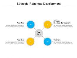 Strategic Roadmap Development Ppt Powerpoint Presentation Professional Sample Cpb
