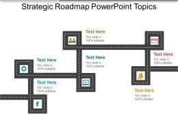 Strategic Roadmap Powerpoint Topics