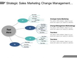 Strategic Sales Marketing Change Management Methodology Customer Strategies Seo Cpb
