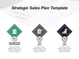 Strategic Sales Plan Template Ppt Powerpoint Presentation Slides Background Cpb