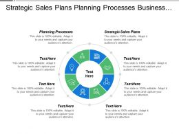 Strategic Sales Plans Planning Processes Business Implementation Strategy Cpb