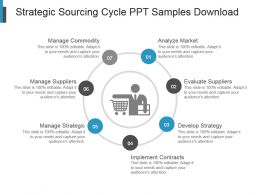 Strategic Sourcing Cycle Ppt Samples Download
